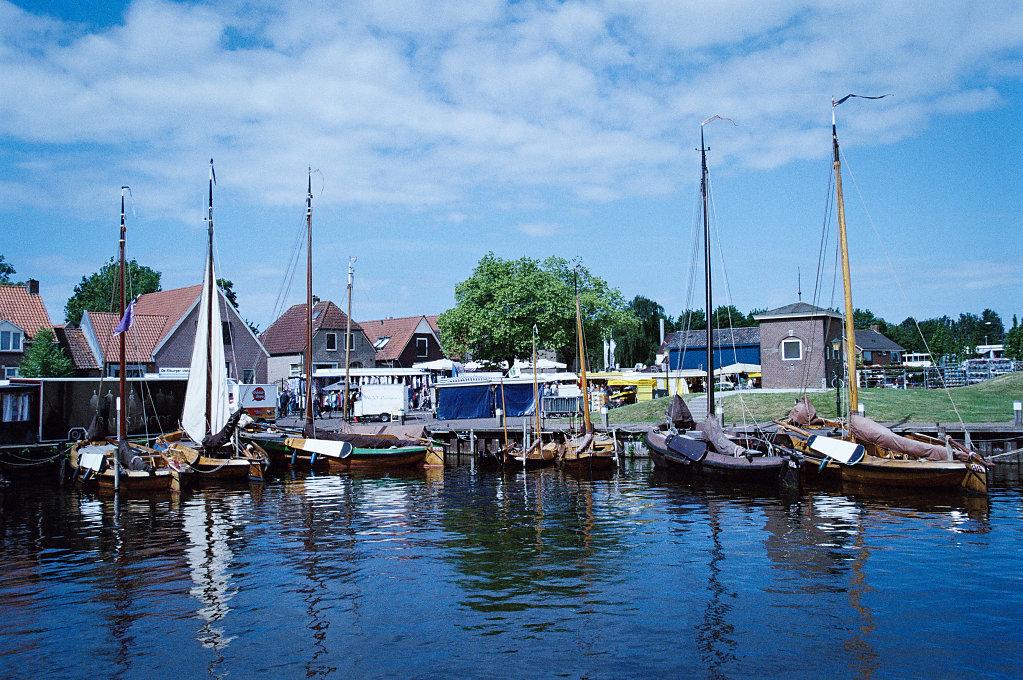 Der Elburger Hafen